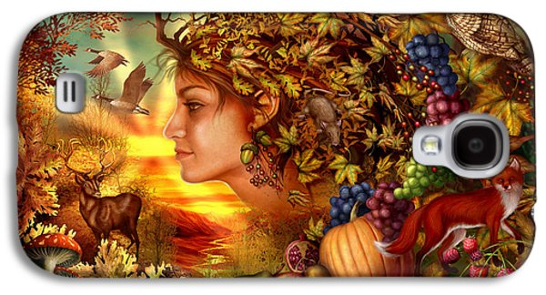 Meiklejohn Graphics - Galaxy S4 Cases - Spirit of Autumn Galaxy S4 Case by Ciro Marchetti