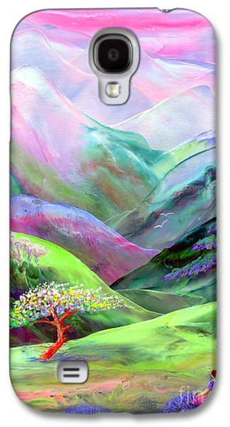 Glowing Galaxy S4 Cases - Spirit of Spring Galaxy S4 Case by Jane Small
