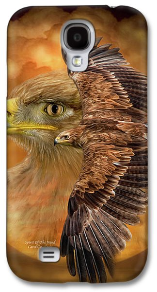 Eagle Mixed Media Galaxy S4 Cases - Spirit Of The Wind Galaxy S4 Case by Carol Cavalaris