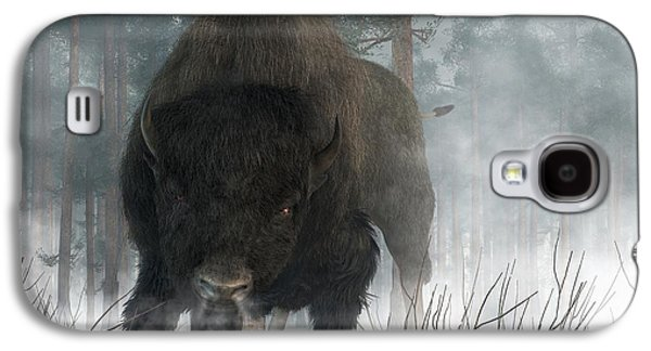 Bison Digital Art Galaxy S4 Cases - Spirit of Winter Galaxy S4 Case by Daniel Eskridge