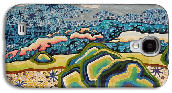 Mystical Landscape Mixed Media Galaxy S4 Cases - Spirit star dream Galaxy S4 Case by Dale Beckman