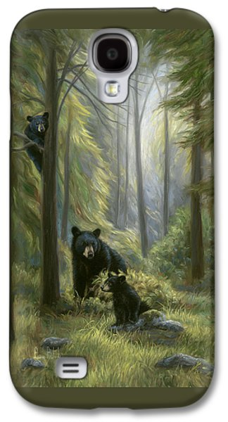 Spirits Of The Forest Galaxy S4 Case by Lucie Bilodeau