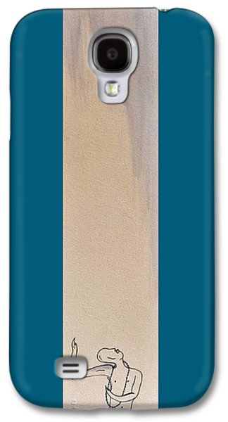 Receive Paintings Galaxy S4 Cases - Spiritual Becoming Galaxy S4 Case by Shelby Robbins