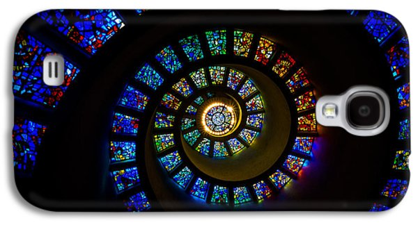 Religious Galaxy S4 Cases - Spiritual Spiral Galaxy S4 Case by Inge Johnsson