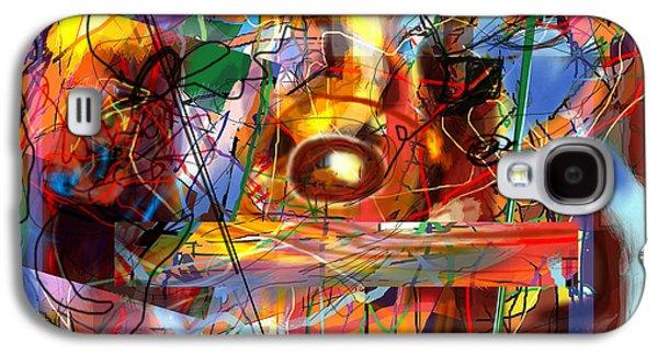 Inner Self Galaxy S4 Cases - Spiritual Understanding 3 Galaxy S4 Case by David Baruch Wolk
