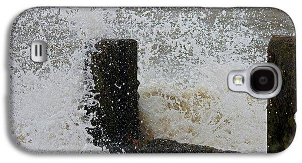 Beach Landscape Galaxy S4 Cases - Splash Galaxy S4 Case by Martin Newman