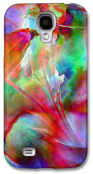 Print On Canvas Galaxy S4 Cases - Splendor - Abstract Art Galaxy S4 Case by Jaison Cianelli