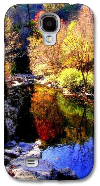 Gatlinburg Galaxy S4 Cases - SPLENDOR of AUTUMN Galaxy S4 Case by Karen Wiles