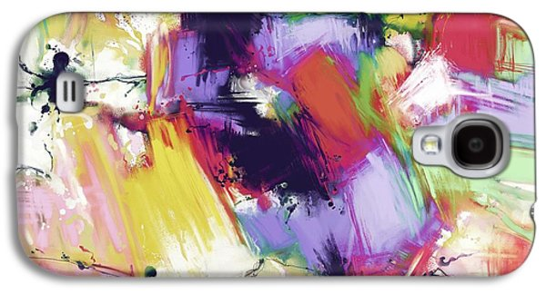 Loose Style Digital Art Galaxy S4 Cases - Splintered time Galaxy S4 Case by Keith Mills