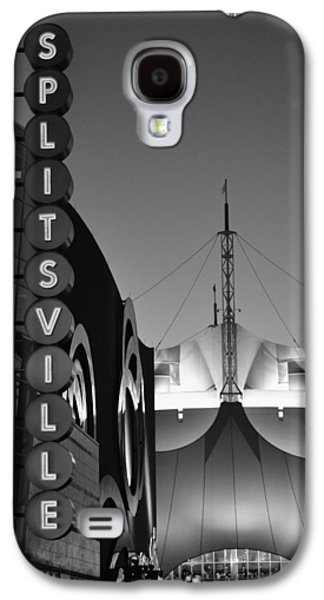 Divorce Galaxy S4 Cases - splitsville neon BW Galaxy S4 Case by Laura  Fasulo