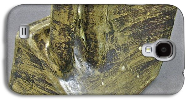 Abstract Ceramics Galaxy S4 Cases - Spontaneous 08-032 Galaxy S4 Case by Mario Perron