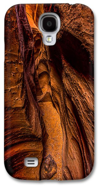 Staircase Galaxy S4 Cases - Spooky Colors Galaxy S4 Case by Chad Dutson