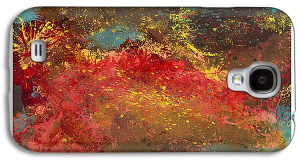 Abstract Digital Paintings Galaxy S4 Cases - Sporadic Corruption 1 Galaxy S4 Case by Craig Tinder