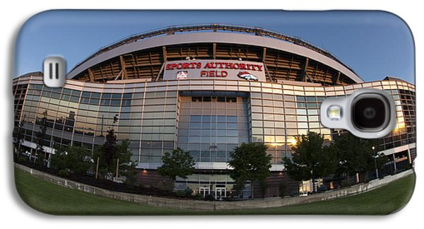 Sports Authority Field At Mile High Galaxy S4 Case by Juli Scalzi