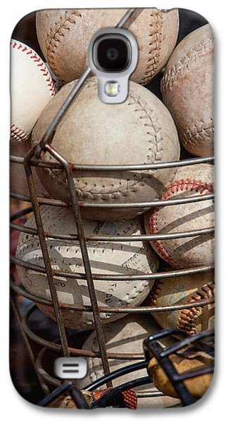 Softball Photographs Galaxy S4 Cases - Sports - Baseballs and Softballs Galaxy S4 Case by Art Block Collections