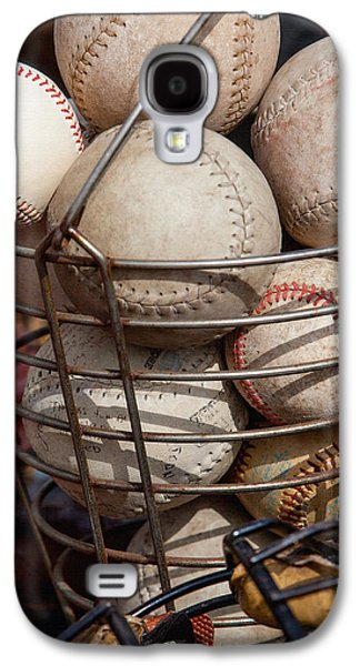 Basket Ball Game Galaxy S4 Cases - Sports - Baseballs and Softballs Galaxy S4 Case by Art Block Collections