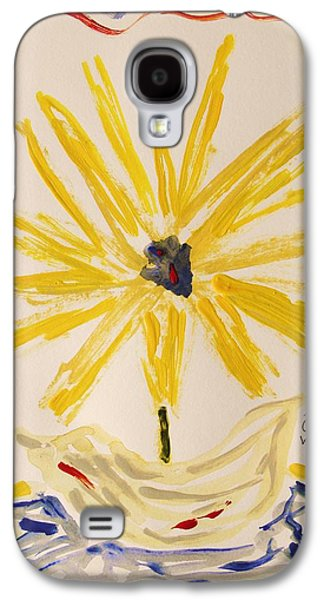 Inner Self Galaxy S4 Cases - Spotlight on Yellow Galaxy S4 Case by Mary Carol Williams