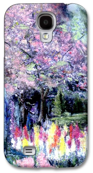 Cherry Blossoms Pastels Galaxy S4 Cases - Spring @ Huntington Library Galaxy S4 Case by Sherri Trout