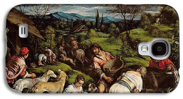 Greyhound Galaxy S4 Cases - Spring, 1576 Galaxy S4 Case by Francesco Bassano