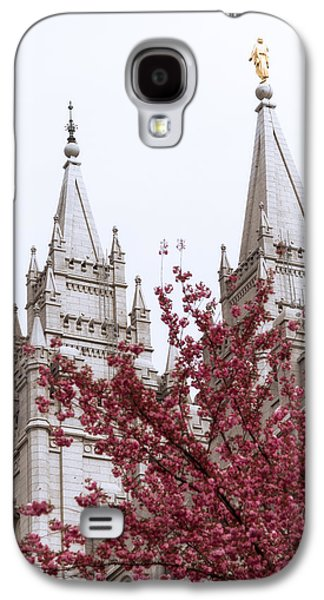 Statue Portrait Galaxy S4 Cases - Spring at the Temple Galaxy S4 Case by Chad Dutson