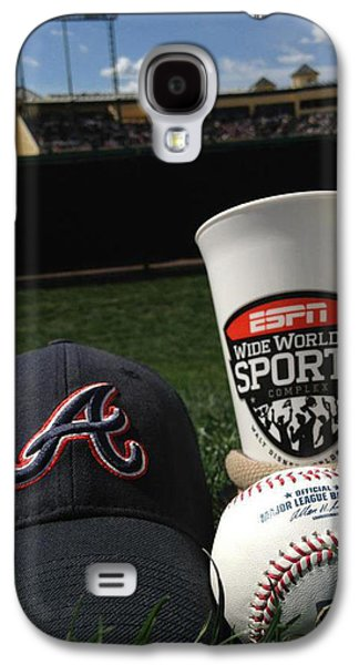 Bat Pyrography Galaxy S4 Cases - Spring Baseball Galaxy S4 Case by KWC Art