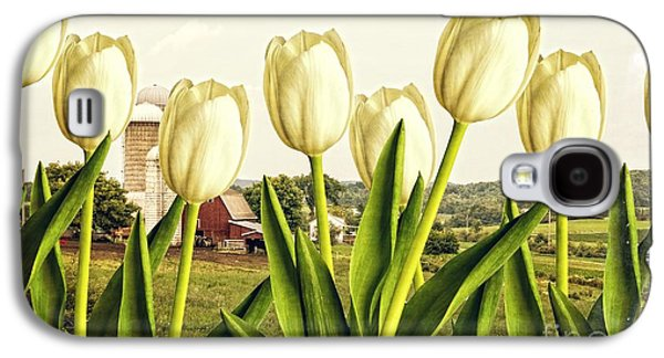 Element Photographs Galaxy S4 Cases - Spring Down on the Farm Galaxy S4 Case by Edward Fielding