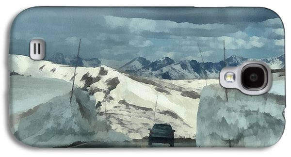 Snow Melt Galaxy S4 Cases - Spring Drive On Trail Ridge Road Galaxy S4 Case by Dan Sproul