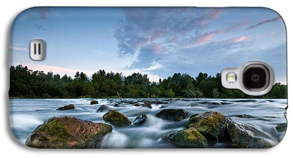 Landscapes Photographs Galaxy S4 Cases - Spring evening Galaxy S4 Case by Davorin Mance