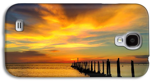 Waterscape Galaxy S4 Cases - Spring Evening Galaxy S4 Case by Kathryn  Stivers