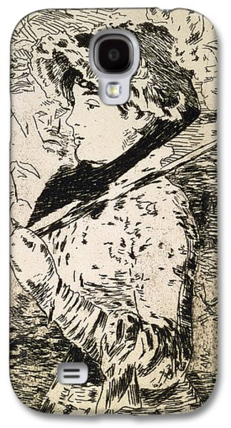 Female Galaxy S4 Cases - Spring   Jeanne Galaxy S4 Case by Edouard Manet