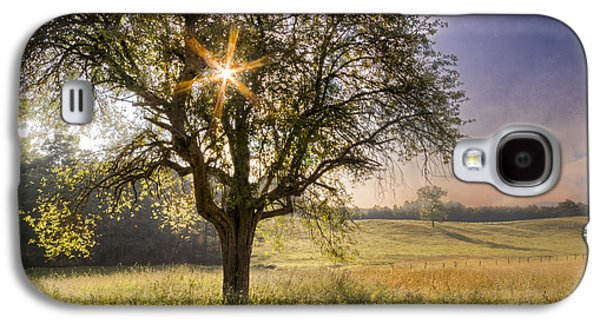 Autumn In The Country Galaxy S4 Cases - Spring Jewel Galaxy S4 Case by Debra and Dave Vanderlaan