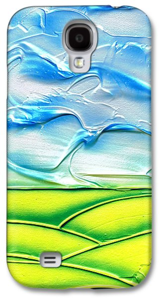 Abstractions Reliefs Galaxy S4 Cases - Spring. Galaxy S4 Case by Kenneth Clarke