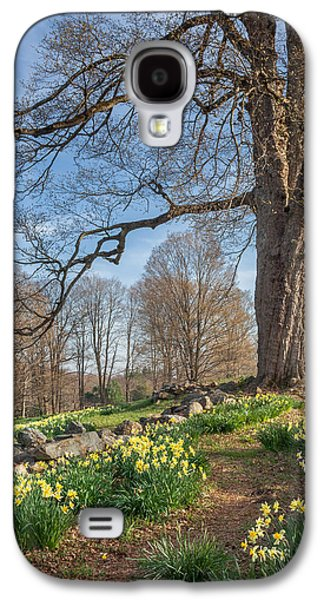 Woodlands Scene Galaxy S4 Cases - Spring Path Galaxy S4 Case by Bill  Wakeley