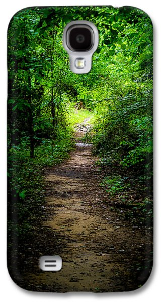 Jogging Digital Art Galaxy S4 Cases - Spring Path to the Light Galaxy S4 Case by Shelby  Young