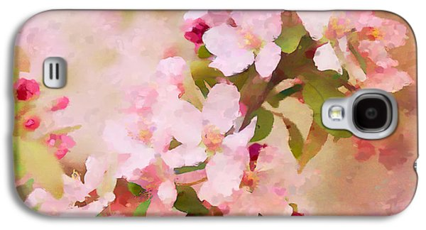 Rosaceae Galaxy S4 Cases - Spring Pink Galaxy S4 Case by Betty LaRue