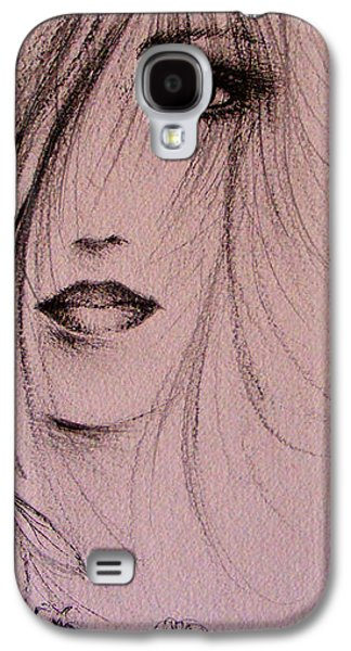 Dreamscape Drawings Galaxy S4 Cases - Spring Galaxy S4 Case by Rachel Christine Nowicki