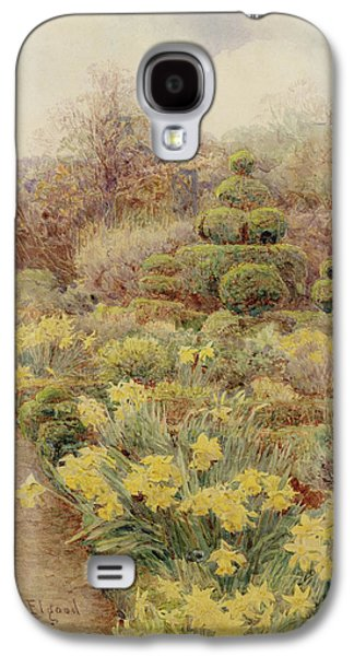 1907 Galaxy S4 Cases - Spring   Raunds Cliffe Galaxy S4 Case by George Samuel Elgood