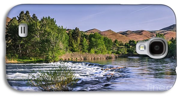 River Flooding Galaxy S4 Cases - Spring Run Off On The Payette River Galaxy S4 Case by Robert Bales