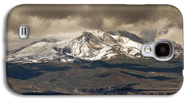 Haybale Galaxy S4 Cases - Spring Storm Over Squaw Butte Galaxy S4 Case by Robert Bales