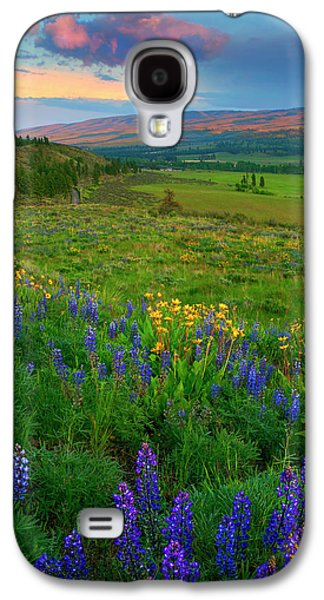Spring Storm Passing Galaxy S4 Case by Mike  Dawson