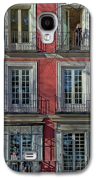 Ancient Galaxy S4 Cases - Spring Sunshine in Madrid Galaxy S4 Case by Joan Carroll