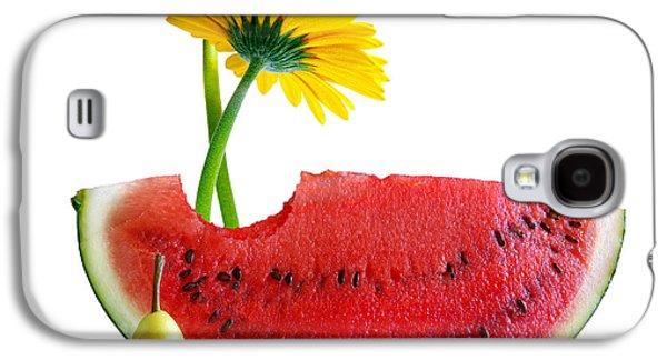 Juice Galaxy S4 Cases - Spring Watermelon Galaxy S4 Case by Carlos Caetano