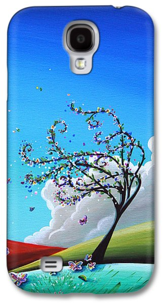 Dreamscape Galaxy S4 Cases - Springtime Galaxy S4 Case by Cindy Thornton