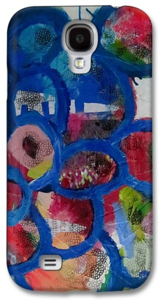 Abstracts Sculptures Galaxy S4 Cases - Springtime in the asylum Galaxy S4 Case by Robin  Kalinich