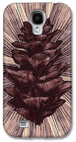 Botanical Digital Art Galaxy S4 Cases - Spruce I Galaxy S4 Case by April Moen