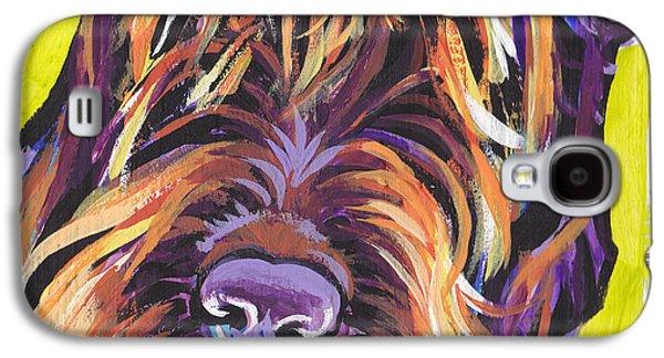 Puppies Galaxy S4 Cases - Spumoni Spinone Galaxy S4 Case by Lea