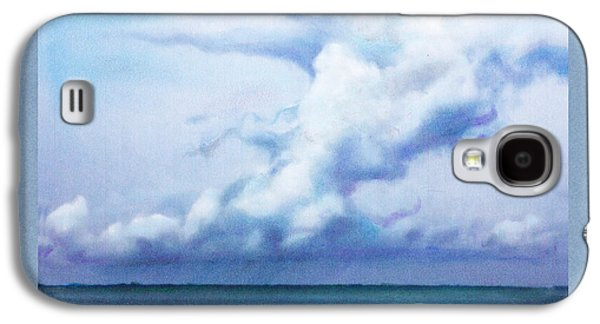 Storm Pastels Galaxy S4 Cases - Squall Line Galaxy S4 Case by Michael  Weber