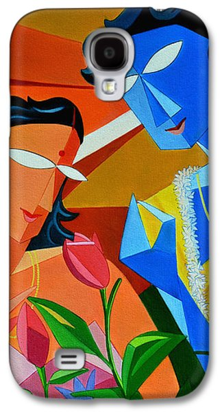 Girl Galaxy S4 Cases - Sri Raag With Ragini Malasree Galaxy S4 Case by Amar Singha