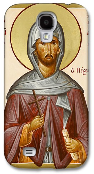 Saint Anastasios The Persian Galaxy S4 Cases - St Anastasios the Persian Galaxy S4 Case by Julia Bridget Hayes