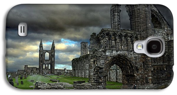Headstones Galaxy S4 Cases - St Andrews Cathedral and gravestones Galaxy S4 Case by RicardMN Photography